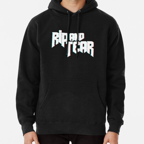 Rip and Tear   Doom   Doom Eternal Pullover Hoodie RB3004product Offical Animal Crossing Merch