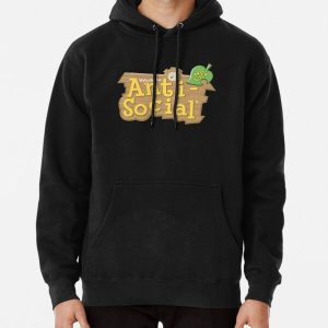 Anti Social No Life Pullover Hoodie RB3004product Offical Animal Crossing Merch