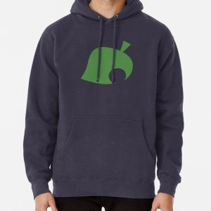 Animal Crossing Leaf Pullover Hoodie RB3004product Offical Animal Crossing Merch
