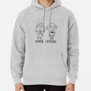 Animal Crossing Villagers Outline Pullover Hoodie RB3004product Offical Animal Crossing Merch