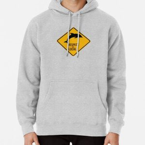 Respect the dolphins - Caution sign Pullover Hoodie RB3004product Offical Animal Crossing Merch