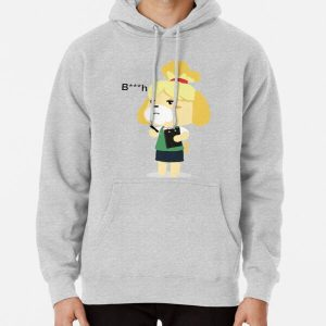 Animal Crossing Isabelle 'bitch' Pullover Hoodie RB3004product Offical Animal Crossing Merch