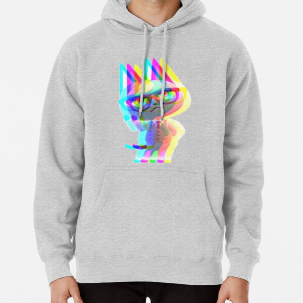 Glitched Raymond  Pullover Hoodie RB3004product Offical Animal Crossing Merch