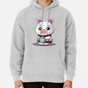 AC:NL- Flurry Sticker Pullover Hoodie RB3004product Offical Animal Crossing Merch