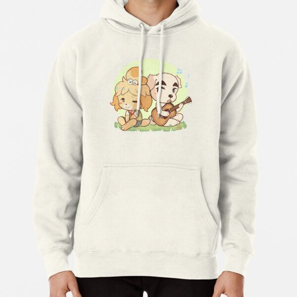 Animal Crossing Isabelle and K.K. Slider Pullover Hoodie RB3004product Offical Animal Crossing Merch