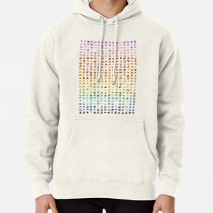 Animal Crossing Villager Rainbow  Pullover Hoodie RB3004product Offical Animal Crossing Merch