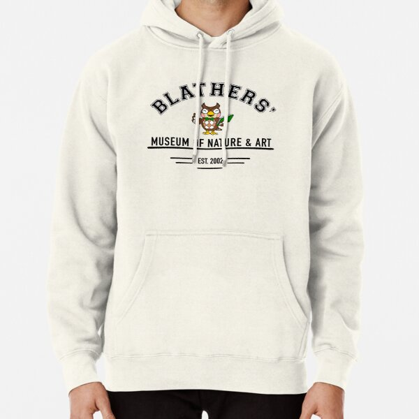 Animal Crossing Blathers' Museum Pullover Hoodie RB3004product Offical Animal Crossing Merch