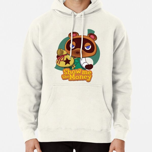Show me the Money Pullover Hoodie RB3004product Offical Animal Crossing Merch