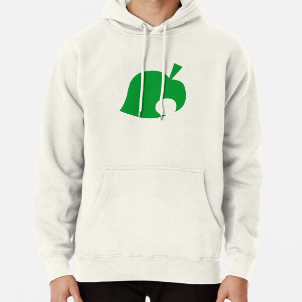 Animal Crossing Leaf Logo Pullover Hoodie RB3004product Offical Animal Crossing Merch