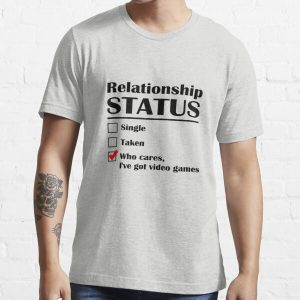 Relationship Status Video Games Essential T-Shirt RB3004product Offical Animal Crossing Merch