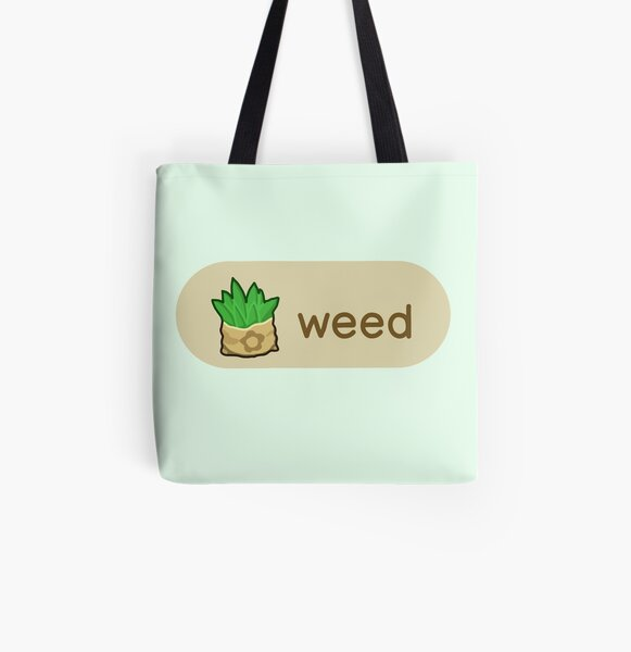 Animal Crossing Weed All Over Print Tote Bag RB3004product Offical Animal Crossing Merch