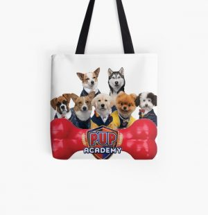 Pup Academy Show All Over Print Tote Bag RB3004product Offical Animal Crossing Merch