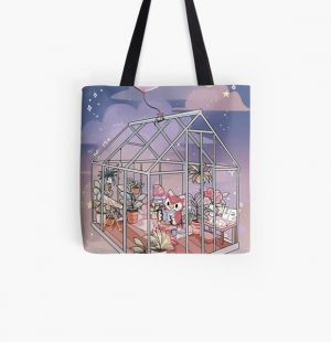 Celeste At Home - Animal Crossing Inspired Artwork All Over Print Tote Bag RB3004product Offical Animal Crossing Merch