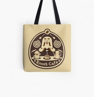 Roost Cafe All Over Print Tote Bag RB3004product Offical Animal Crossing Merch