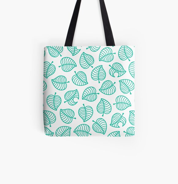 Tanuki Leaf All Over Print Tote Bag RB3004product Offical Animal Crossing Merch