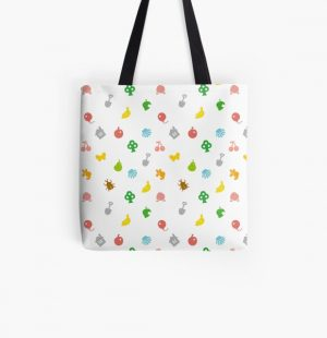 Animal Crossing Amiibo Card - Pattern All Over Print Tote Bag RB3004product Offical Animal Crossing Merch