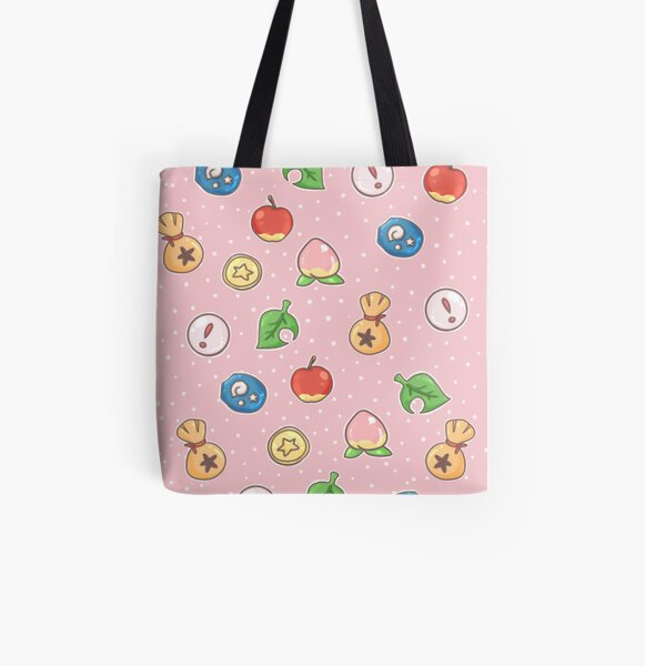 Animal Crossing Icons v.2  All Over Print Tote Bag RB3004product Offical Animal Crossing Merch