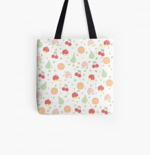 Fruit Pattern  All Over Print Tote Bag RB3004product Offical Animal Crossing Merch