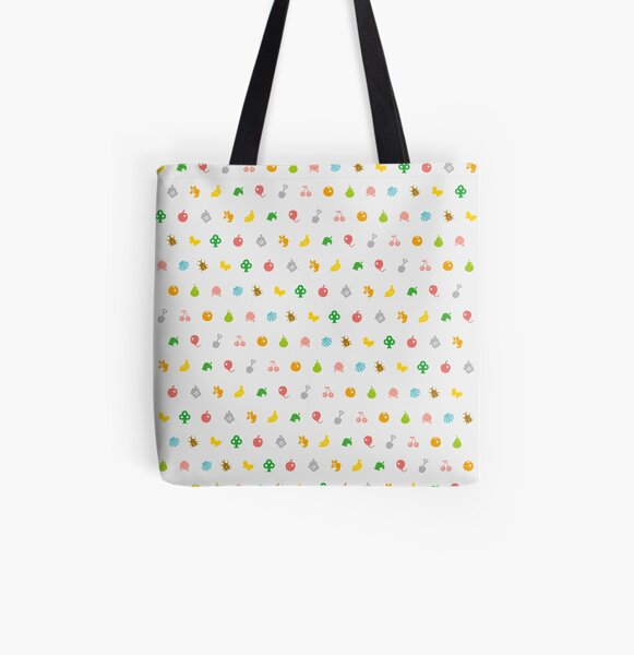 ANIMAL CROSSING HHD PATTERN All Over Print Tote Bag RB3004product Offical Animal Crossing Merch