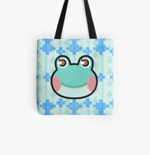 LILY ANIMAL CROSSING All Over Print Tote Bag RB3004product Offical Animal Crossing Merch