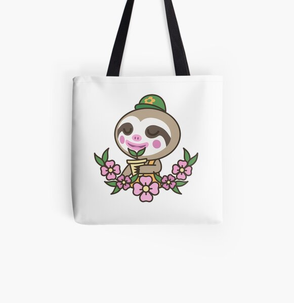 Leif Loves Plants | Animal Crossing All Over Print Tote Bag RB3004product Offical Animal Crossing Merch