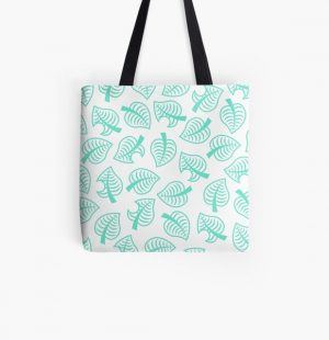 Animal Crossing New Horizons Inspired Pattern All Over Print Tote Bag RB3004product Offical Animal Crossing Merch