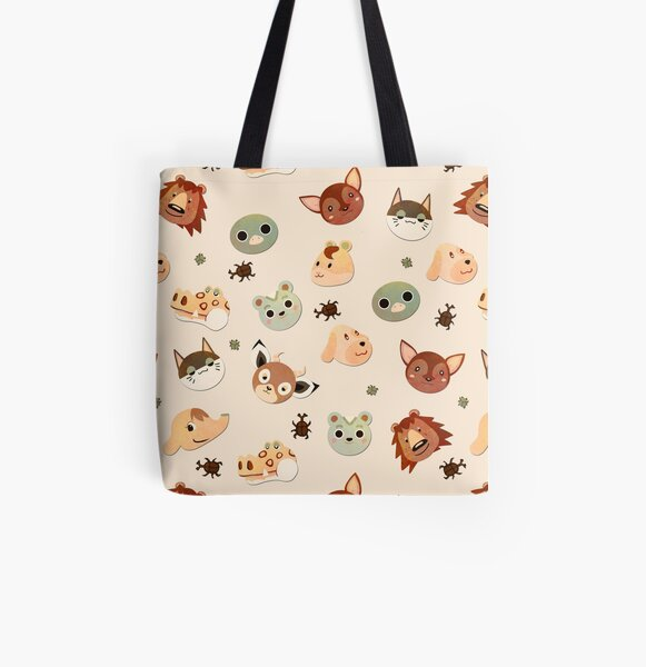 Natural Campers (ACPC) All Over Print Tote Bag RB3004product Offical Animal Crossing Merch