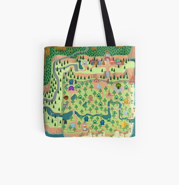 Animal Crossing / どうぶつの森 All Over Print Tote Bag RB3004product Offical Animal Crossing Merch