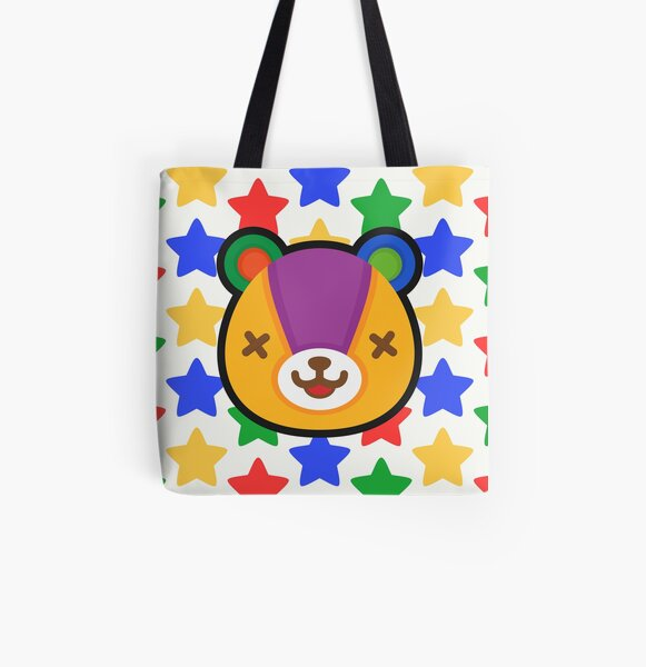 STITCHES ANIMAL CROSSING All Over Print Tote Bag RB3004product Offical Animal Crossing Merch