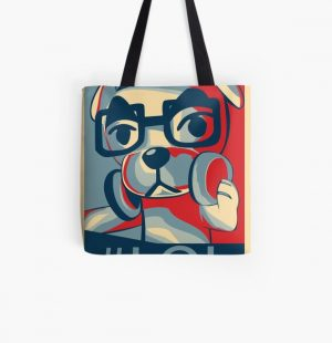 Vote for KK Slider All Over Print Tote Bag RB3004product Offical Animal Crossing Merch