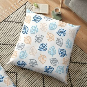 Animal Crossing Motif Blue Floor Pillow RB3004product Offical Animal Crossing Merch