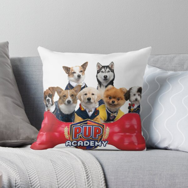 Pup Academy Show Throw Pillow RB3004product Offical Animal Crossing Merch