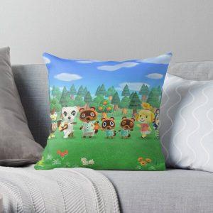 Original Animal Crossing Mug Throw Pillow RB3004product Offical Animal Crossing Merch
