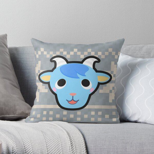 SHERB ANIMAL CROSSING Throw Pillow RB3004product Offical Animal Crossing Merch