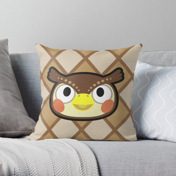 BLATHERS ANIMAL CROSSING Throw Pillow RB3004product Offical Animal Crossing Merch