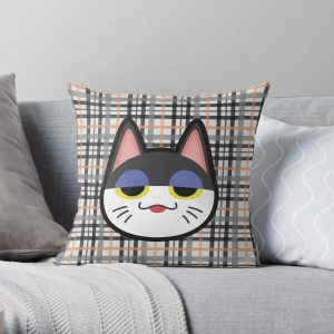PUNCHY ANIMAL CROSSING Throw Pillow RB3004product Offical Animal Crossing Merch