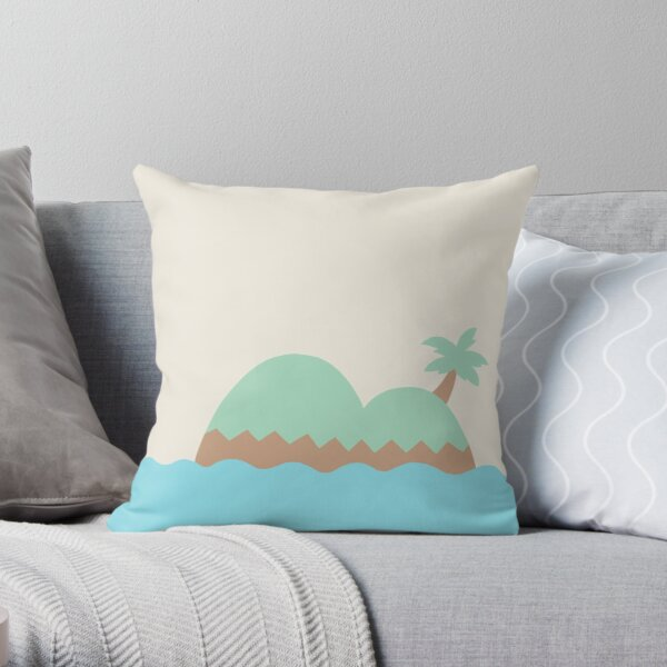Animal Crossing New Horizons Switch Inspired Pillow Throw Pillow RB3004product Offical Animal Crossing Merch