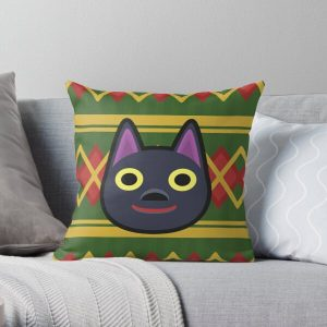 KIKI ANIMAL CROSSING Throw Pillow RB3004product Offical Animal Crossing Merch