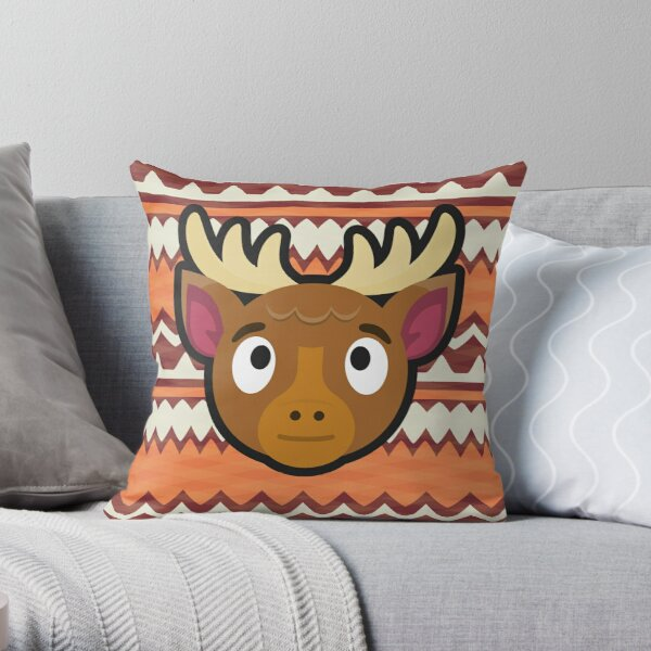 ERIK ANIMAL CROSSING Throw Pillow RB3004product Offical Animal Crossing Merch