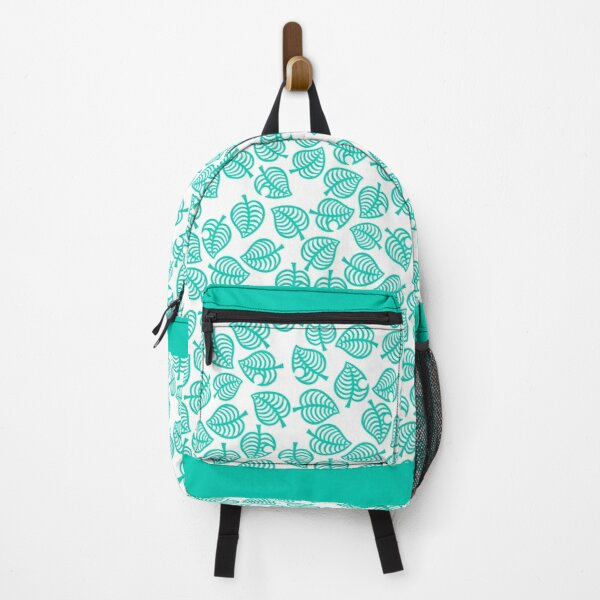 Nook Leaf White Backpack RB3004product Offical Animal Crossing Merch