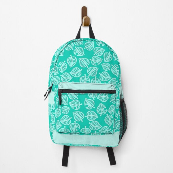 Nook Leaf Blue Backpack RB3004product Offical Animal Crossing Merch