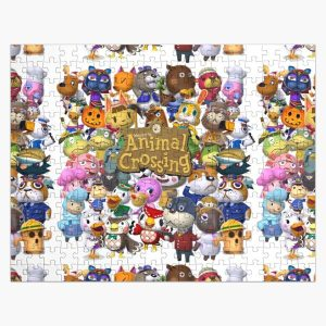 Animal Crossing Collage Jigsaw Puzzle RB3004product Offical Animal Crossing Merch