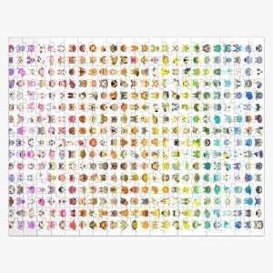 Animal Crossing Villager Rainbow  Jigsaw Puzzle RB3004product Offical Animal Crossing Merch