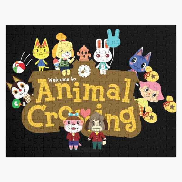 Animal Crossing Logo Jigsaw Puzzle RB3004product Offical Animal Crossing Merch