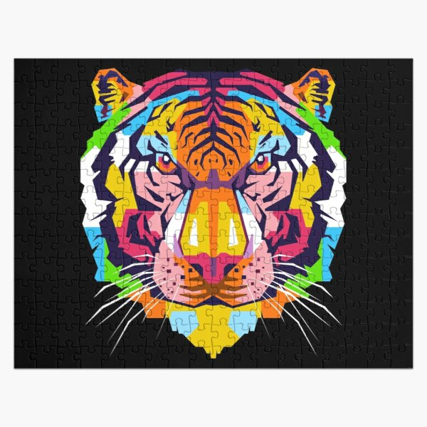 The Tiger Head Jigsaw Puzzle RB3004product Offical Animal Crossing Merch