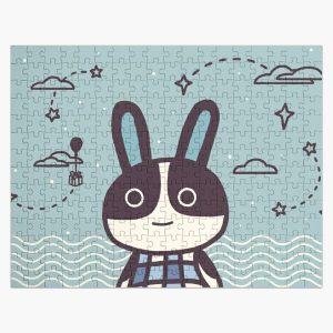 Rabbit Dotty Animal Villager | illustration Jigsaw Puzzle RB3004product Offical Animal Crossing Merch