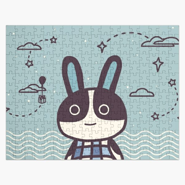Rabbit Dotty Animal Villager   illustration Jigsaw Puzzle RB3004product Offical Animal Crossing Merch