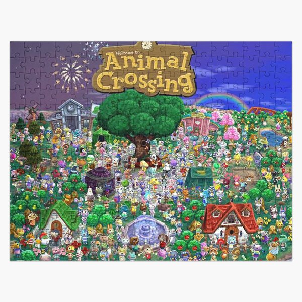 Animal Crossing Jigsaw Puzzle RB3004product Offical Animal Crossing Merch