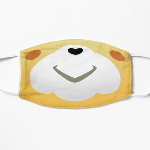 Isabelle mask Flat Mask RB3004product Offical Animal Crossing Merch