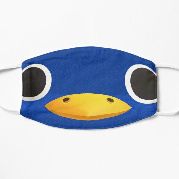 Social Distancing Roald Face Mask Flat Mask RB3004product Offical Animal Crossing Merch